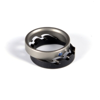 Two parted Titanium Ring