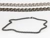 Titanium Venetian Inca chain 4mm